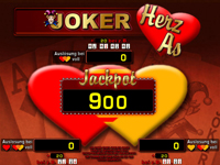 Merkur Joker Herz As