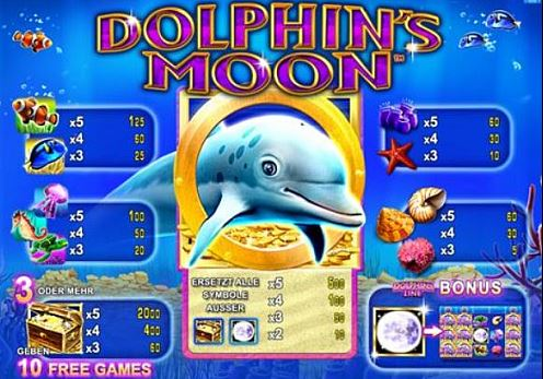 dolphins moon online